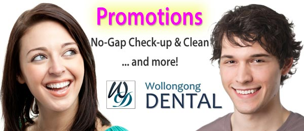 Promotions - No Gap Check-up and Clean