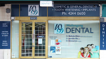 Wollongong Dental Shopfront